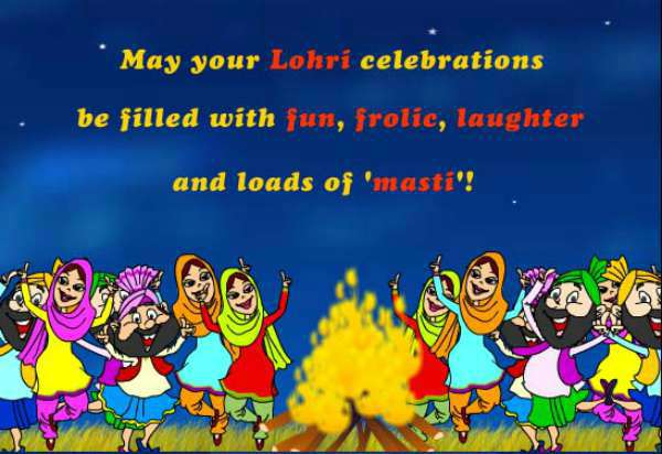 lohri images for drawing