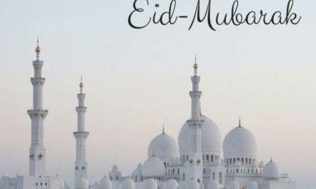 Eid Mubarakbad SMS for facebook