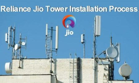 Jio mobile tower installation